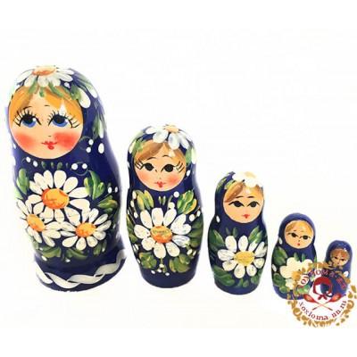"Матрешка ""Полянка"" 5 кукольная"