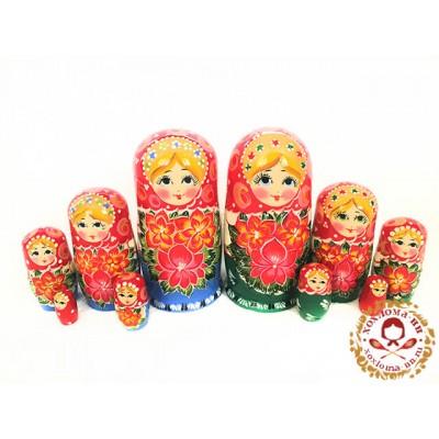 """Матрешка """"Ярморочная"""" 5 кукольная"""