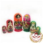 """Матрешка """"Майдан традиция"""" 3 кукольная"""