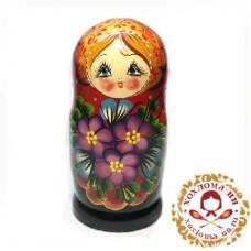 """Матрешка """"Новая фиалка"""" 5 кукольная"""