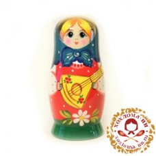 "Матрешка ""Балалайка"" 5 кукольная"