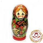 """Матрешка """"Хохлома малая"""" 5 кукольная"""
